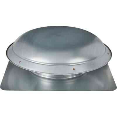 Ventamatic 1080 CFM Galvanized Steel Power Roof Mount Attic Vent Mill