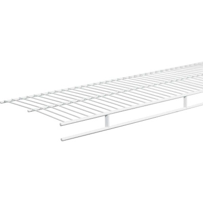ClosetMaid 8 Ft. W. x 12 In. D. Ventilated Wire Shelf & Rod, White