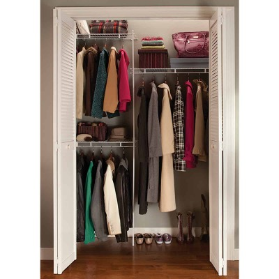 ClosetMaid 5 Ft. Shelf & Rod Closet System