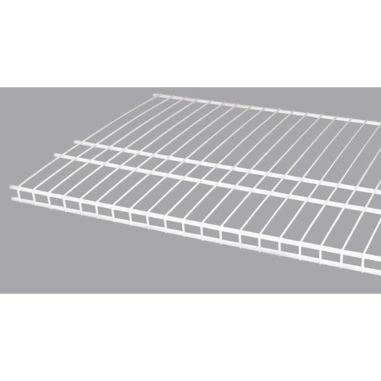 ClosetMaid SuperSlide 12 Ft. W. x 16 In. D. Ventilated Closet Shelf, White Image 1