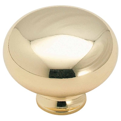 Amerock Allison Edona Polished Brass 1-1/4 In. Cabinet Knob