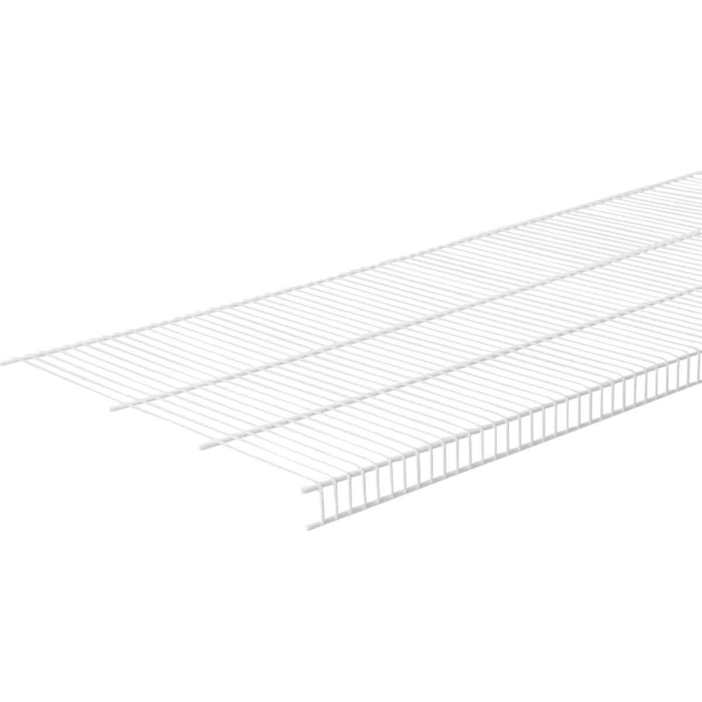 ClosetMaid SuperSlide 12 Ft. W. x 20 In. D. Ventilated Closet Shelf, White Image 2