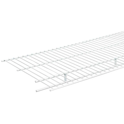 ClosetMaid 6 Ft. W. x 16 In. D. Ventilated Wire Shelf & Rod, White