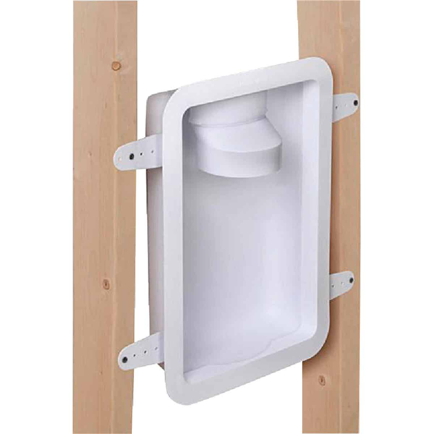 Dundas Jafine 12.05 In. W. x 17.5 In. L. x 3.45 In. D. White Dryer Wall Box Image 1