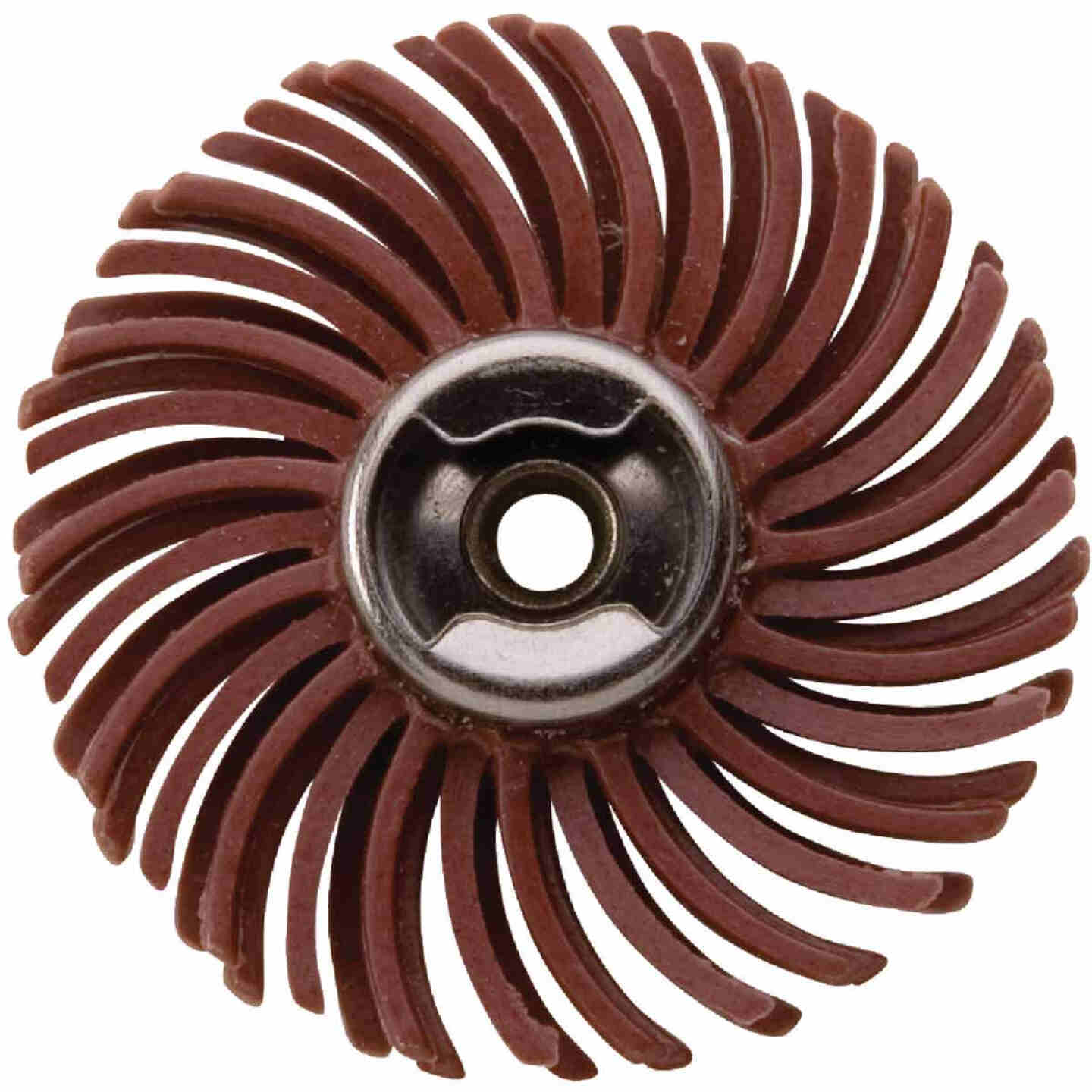 Dremel 1 In. 220G EZ Lock Abrasive Wheel Brush Image 1