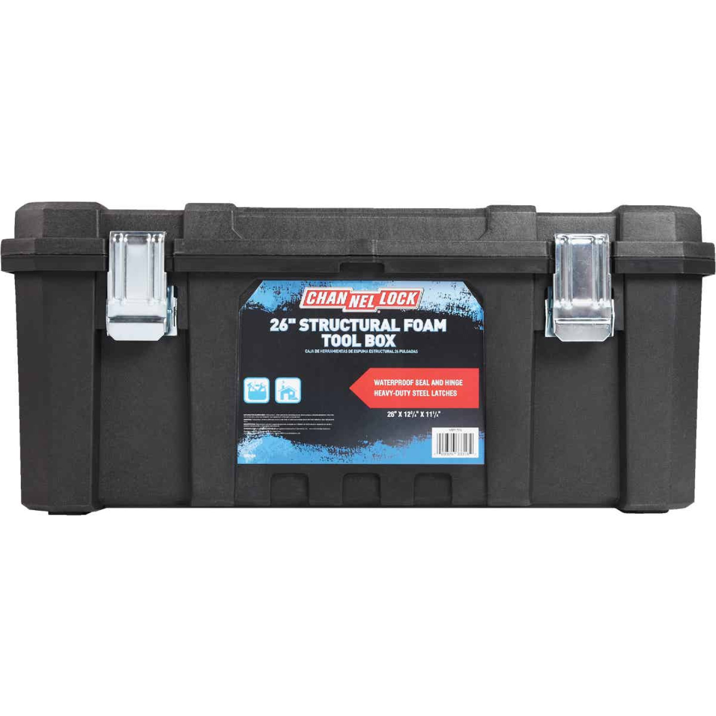 Channellock 26 In. Structural Foam Toolbox Image 2