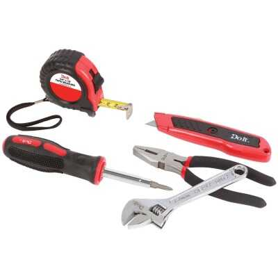 Do it Assorted Tools Home Tool Set (5-Piece)