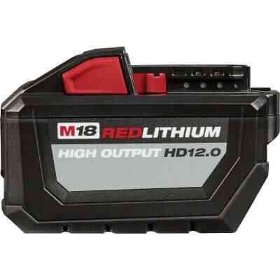 Milwaukee M18 REDLITHIUM 18 Volt Lithium-Ion 12.0 Ah High Output Tool Battery