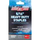 Channellock No. 4 Heavy-Duty Narrow Crown Staple, 5/16 In. (1250-Pack) Image 1