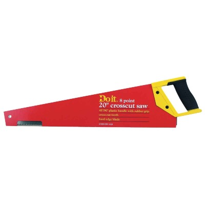 Do it 20 In. L. Blade 8 PPI Plastic Handle Hand Saw