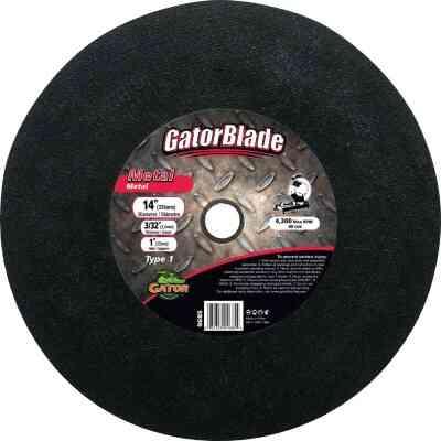 Gator Blade Type 1 14 In. x 3/32 In. x 1 In. Metal Cut-Off Wheel