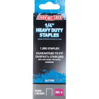 Channellock No. 6 Heavy-Duty Wide Crown Staple, 1/4 In. (1000-Pack) Image 1