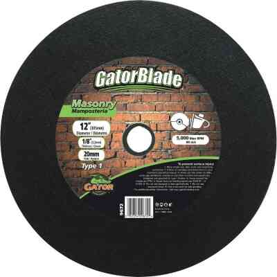 Gator Blade Type 1 14 In. x 1/8 In. x 20 mm Masonry Cut-Off Wheel