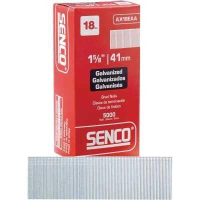 Senco 18-Gauge Galvanized Medium Head Brad Nail, 1-5/8 In. (5000 Ct.)