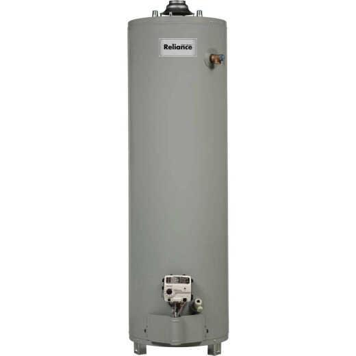 Reliance 40 Gal. Tall 6yr 40,000 BTU Ultra Low NOx Natural Gas Water Heater