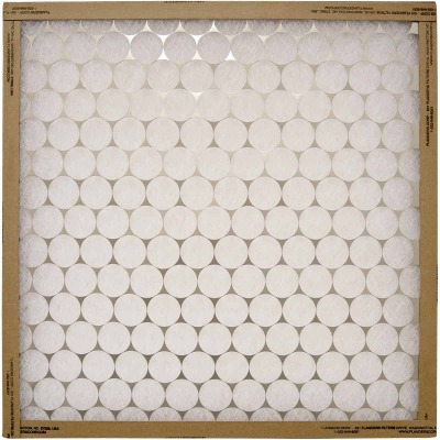 Flanders PrecisionAire 12 In. x 25 In. x 1 In. EZ Flow Heavy-Duty MERV 4 Furnace Filter
