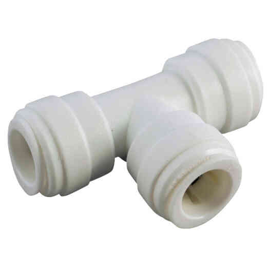 Anderson Metals 1/4 In. x 1/4 In. x 1/4 In. Push-In Plastic Tee