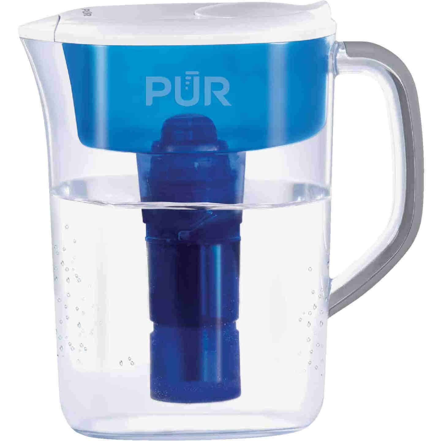 Pur 7-Cup Water Filter Pitcher, Blue Image 1