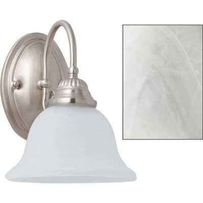 Home Impressions Julianna 1-Bulb Brushed Nickel Wall Light Fixture