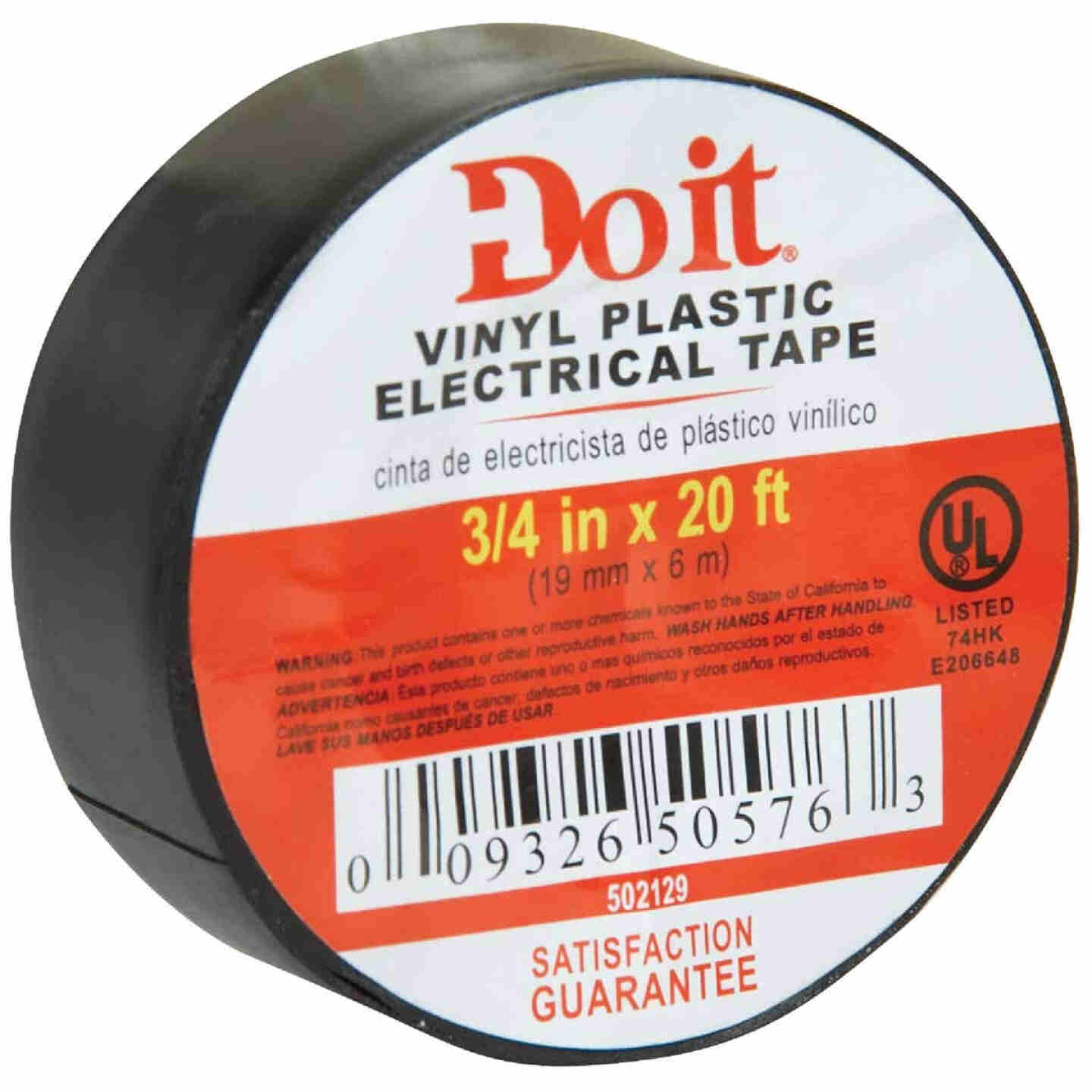 Do it General Purpose 3/4 In. x 20 Ft. Black Electrical Tape Image 2