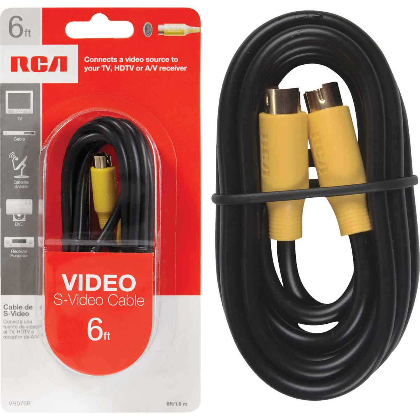 RCA 6 Ft. S-Video Cable Image 1