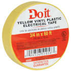 Do it General Purpose 3/4 In. x 60 Ft. Yello Electrical Tape Image 2