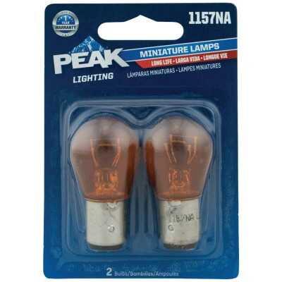 PEAK 1157NA 12.8/14V Mini Incandescent Automotive Bulb (2-Pack)