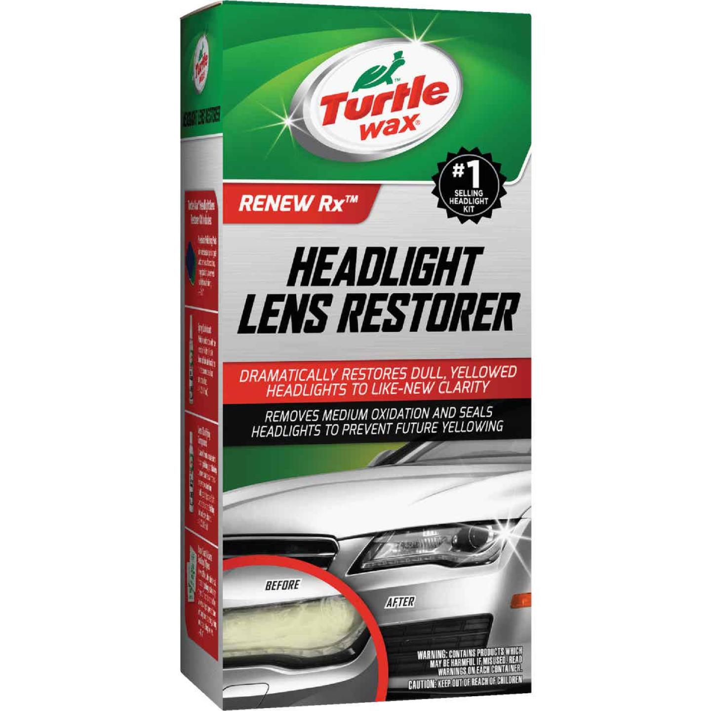 Turtle Wax Headlight Restorer Kit Image 1