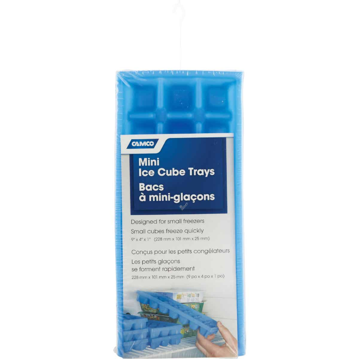 Camco 9 In. L x 4 In. RV Mini Ice Cube Tray, (2-Pack) Image 2
