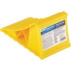 Camco Yellow Plastic RV Wheel Chock Image 1