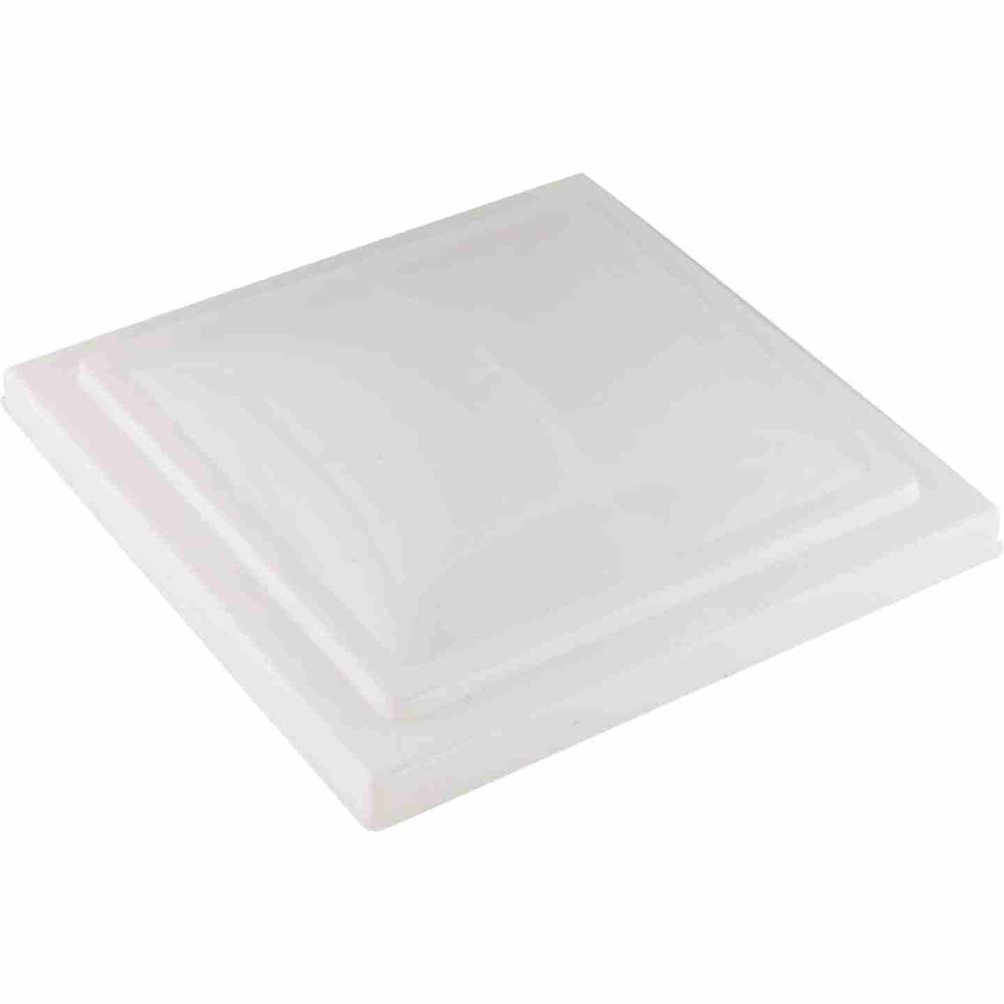 Camco 14 In. x 14 In. Poly Impact-resistant RV Vent Lid Image 1