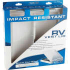 Camco 14 In. x 14 In. Poly Impact-resistant RV Vent Lid Image 2