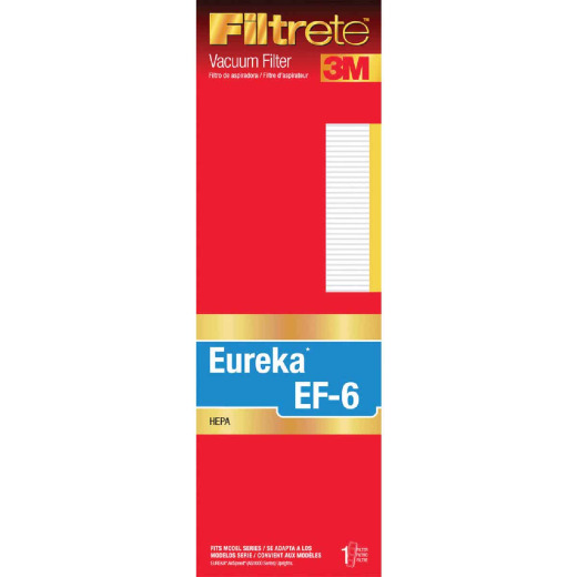 3M Filtrete Eureka Type EF-6 HEPA AirSpeed AS 1000 Series Vacuum Filter