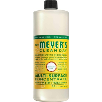 Mrs. Meyer's Clean Day 32 Oz. Honeysuckle Multi-Surface Concentrate