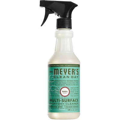 Mrs. Meyer's Clean Day 16 Oz. Basil Multi-Surface Everyday Cleaner