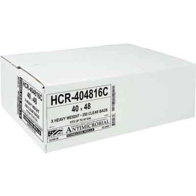 Aluf Plastics Hi-Lene 45 Gal. Clear High Density Can Liner (250-Count)
