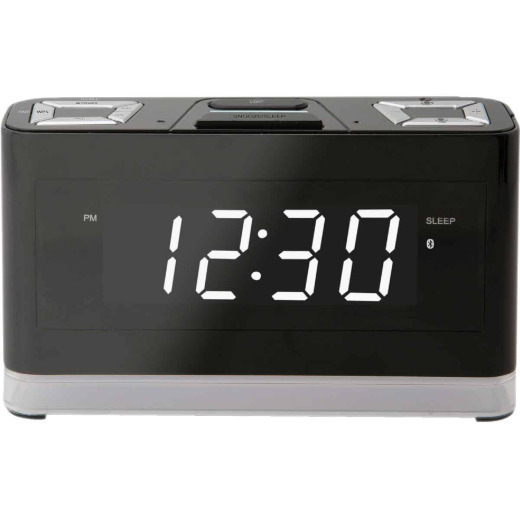 iLive Alexa Bluetooth Wireless Voice Activated Alarm Clock