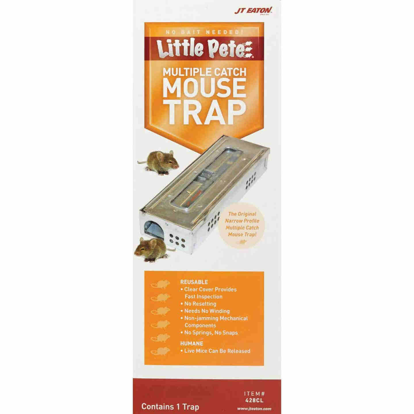 JT Eaton Little Pete Mechanical Mouse Trap with Clear Inspection Window (1-Pack) Image 2