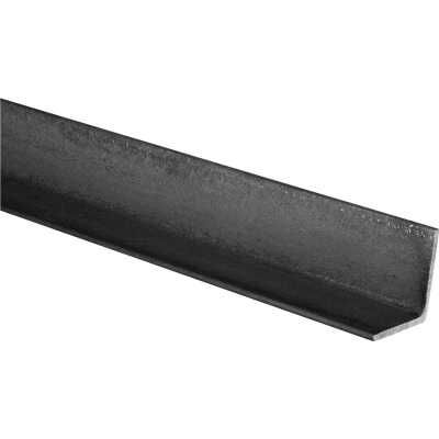 HILLMAN Steelworks Plain 2 In. x 4 Ft., 1/8 In. Weldable Solid Angle