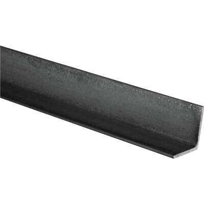 HILLMAN Steelworks Plain 1 In. x 4 Ft., 1/8 In. Weldable Solid Angle