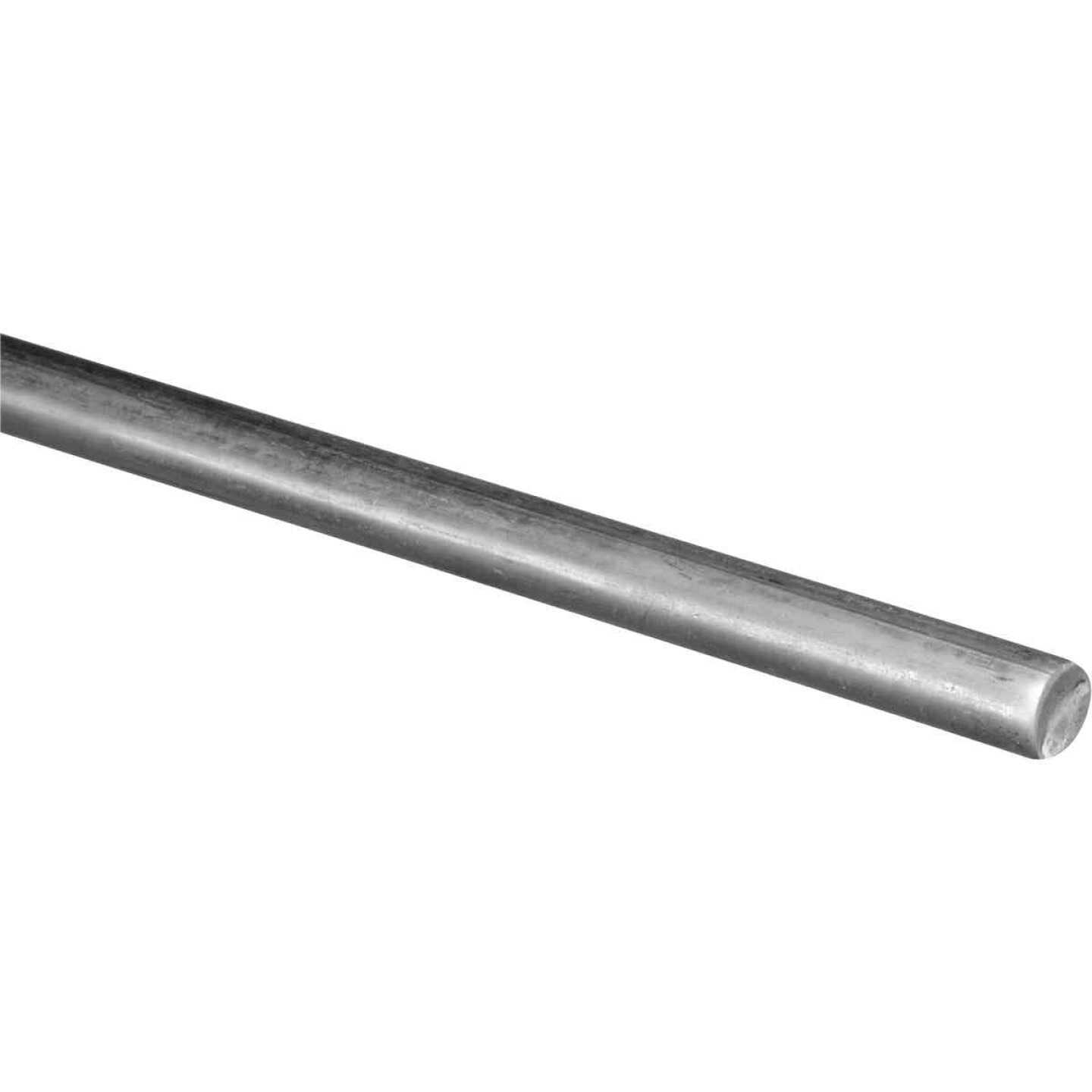 Hillman Steelworks Zinc-Plated 7/16 In. X 3 Ft. Solid Rod Image 1