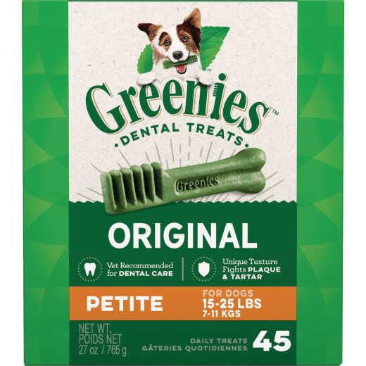 Greenies Petite Small Dog Original Flavor Dental Dog Treat (45-Pack)