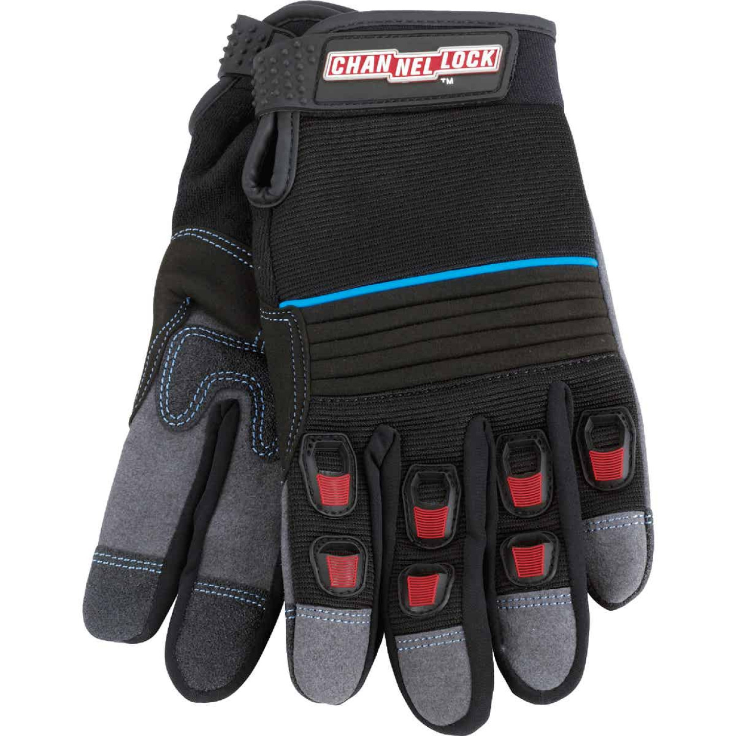 Channellock Men's Medium Synthetic Leather Heavy-Duty High Performance Glove Image 1