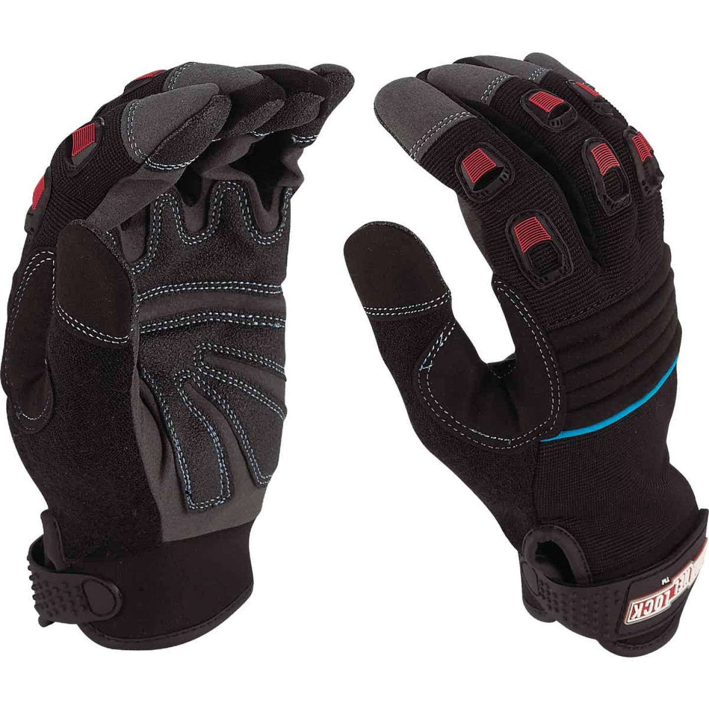 Channellock Men's Medium Synthetic Leather Heavy-Duty High Performance Glove Image 4