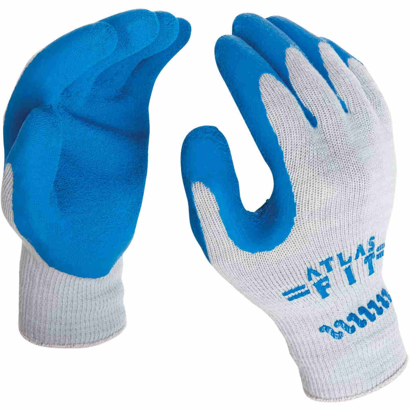 Showa Atlas Men's Small Rubber Coated Glove Image 3