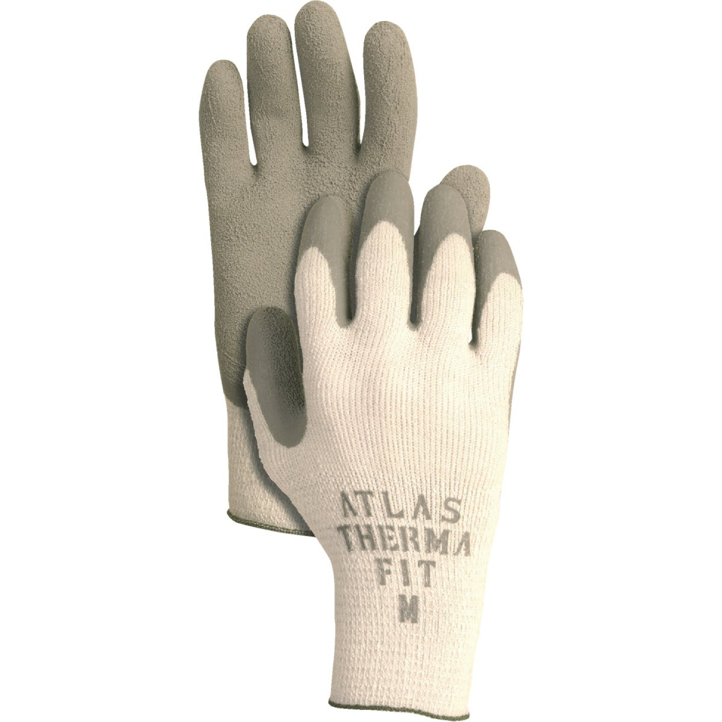 Atlas Therma-Fit Men's Small Latex-Dipped Knit Winter Glove Image 1