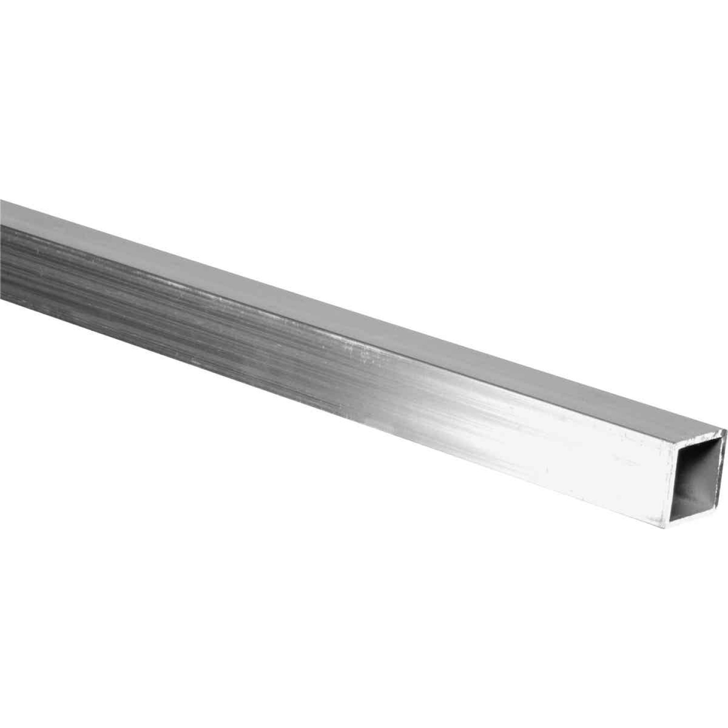 HILLMAN Steelworks 1 In. x 6 Ft. x 1/16 In. Aluminum Square Tube Image 1
