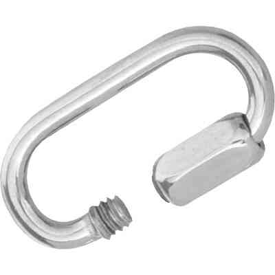 Campbell 1/8 In. Polished Cast Stainless Steel Quick Link