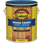 Cabot VOC Wood Toned Deck & Siding Exterior Stain, Natural, 1 Gal. Image 1