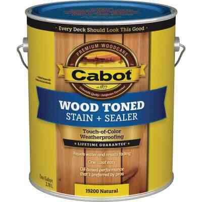 Cabot VOC Wood Toned Deck & Siding Exterior Stain, Natural, 1 Gal.